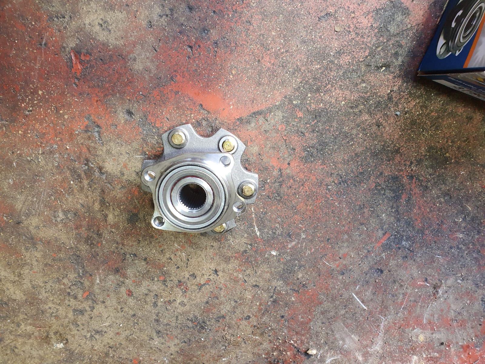 החלפת נאבה מיצובישי פגרו 4×4